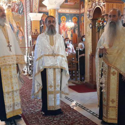 kozan.gr: Φωτογραφίες από το σημερινό πανηγυρικό εσπερινό στον Ιερό Ναό Παναγίας Βλαχερνών Τετραλόφου, που πανηγυρίζει την Παρασκευή 2 Ιουλίου, εορτή της Κατάθεσις της Τιμίας Εσθήτος της Θεοτόκου