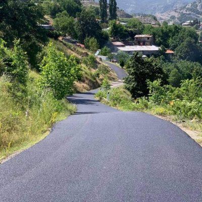"""Ζευκλής Χρήστος: """"Ασφαλτόστρωση εσωτερικού οδικού δικτύου στην περιοχή του Πενταλόφου"""""""
