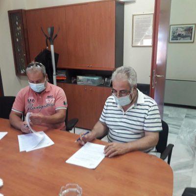 """Μ. Στεργίου: """"Χθες, 2/7/2021, υπογράφτηκε η σύμβαση για τα έργα ανάπλασης του Δημοτικού Αθλητικού Κέντρου Βελβεντού"""""""