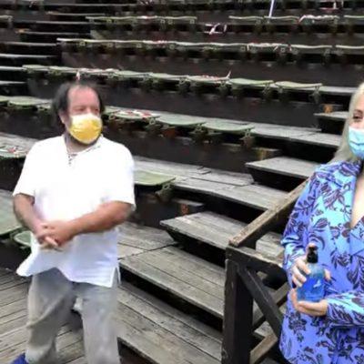 Οδηγίες από το ΔΗΠΕΘΕ Κοζάνης για την ταξιθεσία και την τήρηση των μέτρων υγειονομικής ασφαλείας στο Υπαίθριο Δημοτικό Θέατρο (Βίντεο)