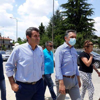 Τεχνικά Έργα 3.912.400 ευρώ, που υλοποιούνται στην Π.Ε. Καστοριάς, επισκέφτηκε ο Περιφερειάρχης Δυτικής Μακεδονίας Γιώργος Κασαπίδης (Φωτογραφίες)