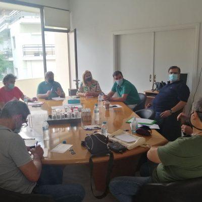 Συνάντηση εκπροσώπων της Διοίκησης του ΤΕΕ/ΤΔΜ με εκπροσώπους του κόμματος των Πρασίνων