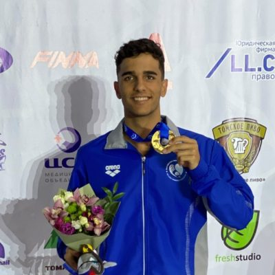 """Παγκόσμιο πρωτάθλημα Τεχνικής Κολύμβησης Ανδρών: Χρυσό ο Καλαϊτζόπουλος, από τα """"Δελφίνια"""" Πτολεμαίδας, στα 200μ στα διπλά πέδιλα"""