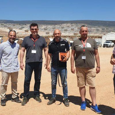 "kozan.gr: Eπίσκεψη του συνδυασμού ""Μετάβαση για το Δήμο Κοζάνης"" στο φωτοβολταϊκό σταθμό των ΕΛΠΕ στα Λιβερά Κοζάνης"