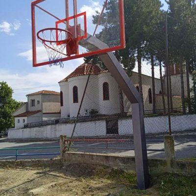 """Χ. Ελευθερίου (Δήμαρχος Σερβίων) : """"Συντήρηση γηπέδων μπάσκετ στις Κοινότητες Τριγωνικού, Ιμέρων, Αύρας, Αυλών, Ελάτης – Έρχονται γήπεδα μπάσκετ στο Βαθύλακκο, Γούλες και στα Λεύκαρα"""""""