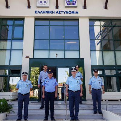 Συνάντηση υπηρεσιακών παραγόντων της Αλβανικής Αστυνομίας με το Γενικό Περιφερειακό Αστυνομικό Διευθυντή Δυτικής Μακεδονίας