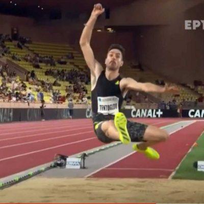 Εξαιρετικός ο Γρεβενιώτης Μίλτος Τεντόγλου – «Ζέσταμα» για τους Ολυμπιακούς Αγώνες με πρωτιά στο Μονακό