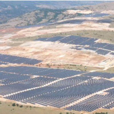Αρχές του 2022 μπαίνει στην «πρίζα» το mega φωτοβολταϊκό πάρκο των ΕΛΠΕ στα Λιβερά Κοζάνης