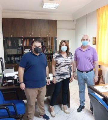 Ευχαριστήριο του Γενικού Νοσοκομείου Κοζάνης προς το Συνεταιρισμό Φαρμακοποιών Φαρμακευτικών Συλλόγων Δυτ. Μακεδονίας για την δωρεά 40 οξυμέτρων και 1000 μασκών FFP2 στην μνήμη του αείμνηστου προέδρου του Δημ. Δαϊρούση