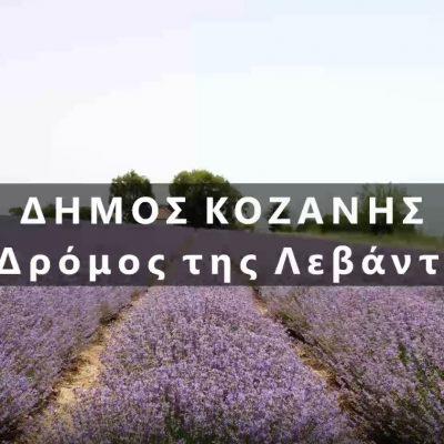 Δήμος Κοζάνης: Στηρίζουμε τα τοπικά μας προϊόντα – Ακολουθούμε το δρόμο της λεβάντας (Βίντεο)