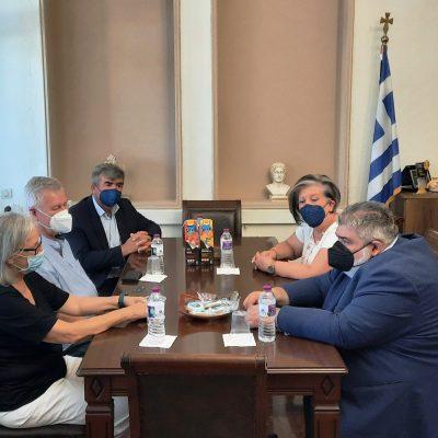 Η Πρέσβης της Αυστρίας επισκέφθηκε τον Δήμαρχο Εορδαίας