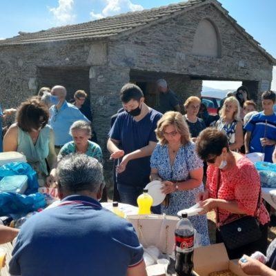 Ο εορτασμός της πανήγυρης του Μικροβάλτου στο ξωκλήσι του Αηλιά (φωτογραφίες)