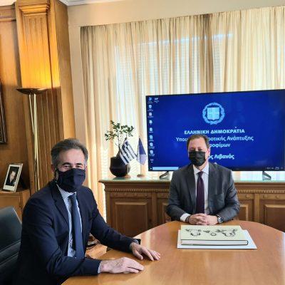 Στάθης Κωνσταντινίδης, Βουλευτής Ν. Κοζάνης «Η Κυβέρνηση και ο ΕΛΓΑ κοντά στον Έλληνα παραγωγό. Παγετός 2021 – ΠΣΕΑ 2017»