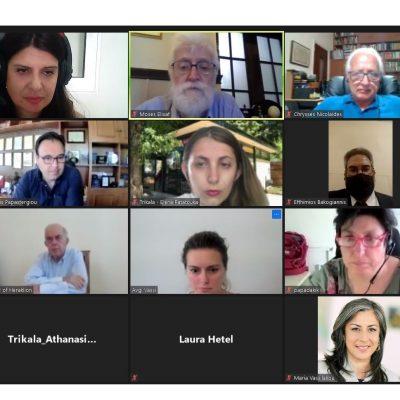 «100 κλιματικά ουδέτερες πόλεις μέχρι το 2030»: Τηλεδιάσκεψη των εμπλεκόμενων φορέων με συμμετοχή του δημάρχου Κοζάνης Λάζαρου Μαλούτα