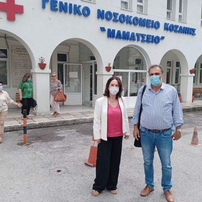 Καλλιόπη Βέττα: Τα νοσοκομεία της Π.Ε. Κοζάνης πλήττονται από την υποστελέχωση και τις αθρόες αποχωρήσεις υγειονομικών στελεχών