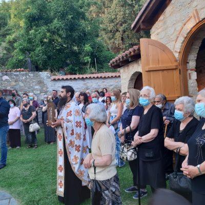 kozan.gr: Ο Μέγας Αρχιερατικός Εσπερινός, το απόγευμα της Κυριακής 25/7, στην Ιερά Μονή Αγίας Παρασκευής Δομαβιστίου στα Νάματα Βοΐου  χοροστατούντος του Μητροπολίτη Σισανίου & Σιατίστης κ.κ. Αθανασίου (Φωτογραφίες & Βίντεο)