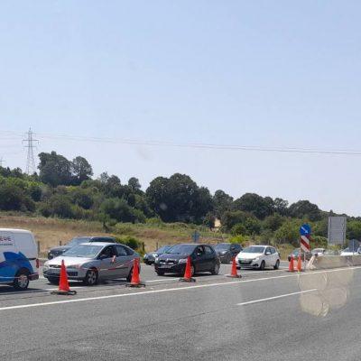 Kozan.gr: Ώρα 14:15: Μεγάλη ουρά  οχημάτων στα διόδια Πολυμύλου, στο ρεύμα προς Θεσσαλονίκη (Φωτογραφίες)