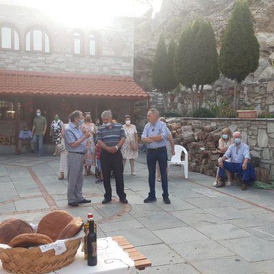 kozan.gr: Ο Μέγας Αρχιερατικός Εσπερινός, το απόγευμα της Δευτέρας 26/7, στην Ιερά Μονή Αγίου Παντελεήμονα Βλάστης χοροστατούντος του Μητροπολίτη Σισανίου & Σιατίστης κ.κ. Αθανασίου (Φωτογραφίες & Βίντεο)