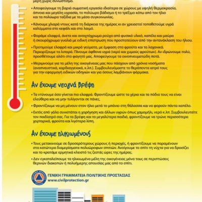 Δήμος Κοζάνης: Κλιματιζόμενες αίθουσες στη διάθεση των πολιτών για την αντιμετώπιση του καύσωνα