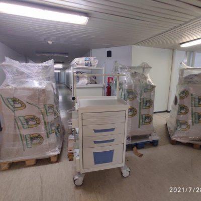 """""""Μποδοσάκειο"""" Νοσοκομείο Πτολεμαϊδας: Παραλαβή νέου ξενοδοχειακού εξοπλισμού 8 Τροχήλατων Νοσηλείας"""