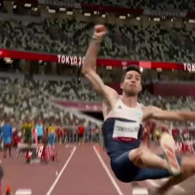kozan.gr: Πέταξε στα 8.22 μέτρα, με την πρώτη προσπάθεια, ο Γρεβενιώτης Μίλτος Τεντόγλου και προκρίθηκε στον τελικό του μήκους στους Ολυμπιακούς αγώνες του Τόκιο (Φωτογραφίες & βίντεο)