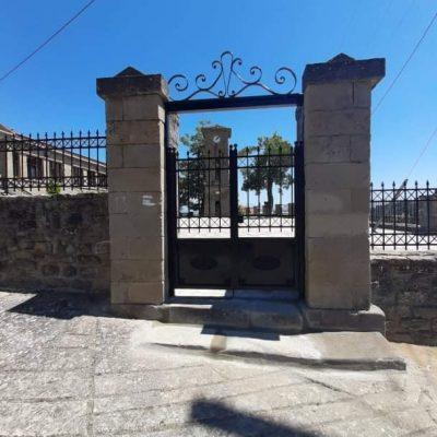 Σε εξέλιξη βρίσκονται οι εργασίες συντήρησης στον προαύλιο χώρο του πρώην Δημοτικού Σχολείου στον Αυγερινό