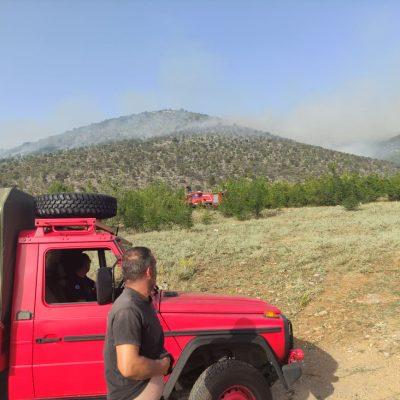 kozan.gr: Ώρα 18:45: Κι άλλη φωτιά, σε εξέλιξη, σε χαμηλή βλάστηση, στα σύνορα Μικροκάστρου Καλονερίου & Γαλατινής, κοντά στο μπαζότοπο του Δήμου Βοΐου, 1 χλμ. περίπου από την Αγ. Κυριακή (Φωτογραφίες)