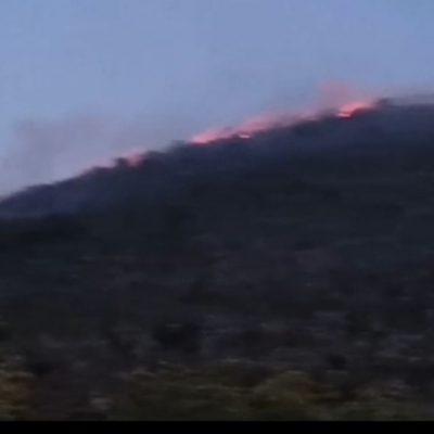 kozan.gr: Ώρα 21:00: Eικόνα από τη φωτιά σε εξέλιξη στην περιοχή Μικροκάστρου – Αγίας Κυριακής και Σιάτιστας (Bίντεο)