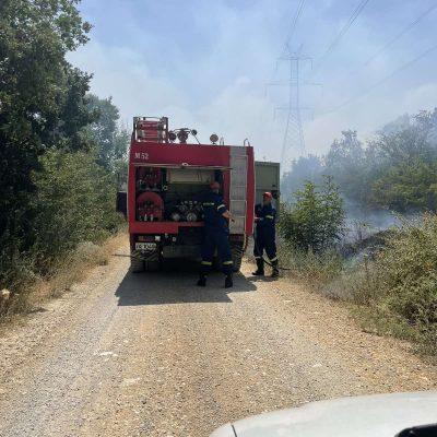 kozan.gr: Σε εξέλιξη είναι από τη 13:00 φωτιά στην περιοχή της Οινόης Κοζάνης, στη θέση Κούκος, λίγο πιο έξω από το χωριό (Φωτογραφίες)