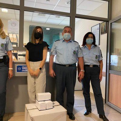 Η MedPlace προσέφερε, στην Αστυνομική Διεύθυνση Κοζάνης, 2000 μάσκες