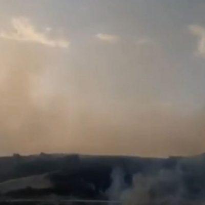 kozan.gr: Nέες εικόνες από τις πολλές εστίες φωτιάς στη Ζωοδόχο Πηγή, λίγο πριν νυχτώσει – Καπνοί σε όλη την περιοχή (Βίντεο)