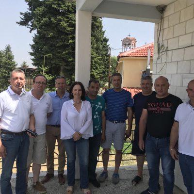 Καλλιόπη Βέττα: Άμεση ανάγκη για αναβάθμιση των υποδομών του Λιβαδερού – Συνάντηση με το Κοινοτικό Συμβούλιο