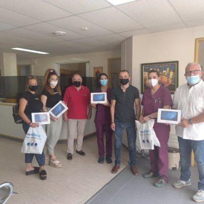 Δωρεά 5 tablets στο Τμήμα Επειγόντων Περιστατικών (ΤΕΠ) του Μποδοσάκειου νοσοκομείου Πτολεμαίδας