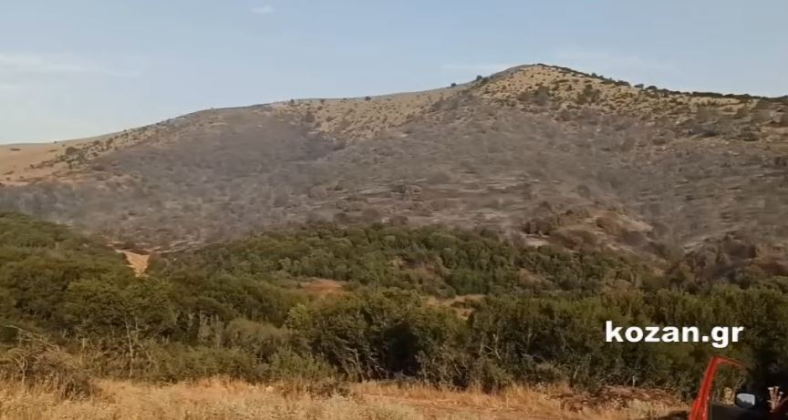 """kozan.gr: 'Ώρα 19.15: Δεν """"πέρασε"""" η φωτιά προς το χωριό Μεταξά – Ελεγχόμενη η κατάσταση και στις εστίες φωτιάς από τη μεριά του Σαρανταπόρου (Βίντεο)"""