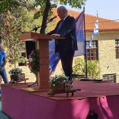 Ο βουλευτής Κοζάνης Μιχάλης Γ. Παπαδόπουλος συμμετείχε σήμερα Παρασκευή 13/08/2021 στις εορταστικές εκδηλώσεις για την επέτειο των 150 χρόνων προσφοράς των εκπαιδευτηρίων ΤΣΟΤΥΛΙΟΥ,