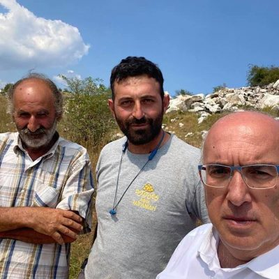 Στα χωράφια πατάτας Πολυμύλου ο βουλευτής Κοζάνης Μιχάλης Παπαδόπουλος – Μεγάλες ζημιές από το χαλάζι (Φωτογραφίες)