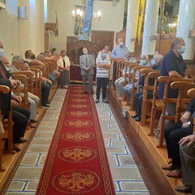 kozan.gr: Δοξολογία στον Ιερό Ναό του Αγίου Μάρκου, στη Βλάστη Εορδαίας, χοροστατούντος του Μητροπολίτη Σισανίου & Σιατίστης κ.κ. Αθανάσιο, πραγματοποιήθηκε σήμερα Δευτέρα 16/8 (Φωτογραφίες & Βίντεο)