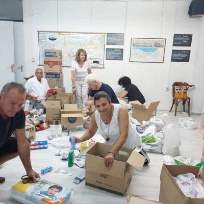 kozan.gr: Ο Μικρασιατικός Σύλλογος Π.Ε Κοζάνης συγκέντρωσε τη βοήθεια, σε είδη πρώτης ανάγκης κι όχι μόνο, για την πυρόπληκτη Εύβοια (Φωτογραφίες)