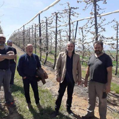Στο πλευρό των αγροτών της Δημοτικής Ενότητας Βερμίου, οι οποίοι εξαιρέθηκαν των αποζημιώσεων του ΕΛΓΑ από τον παγετό του περασμένου Απριλίου, ο Δήμος Εορδαίας