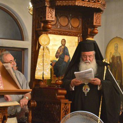 Ο Σεβασμιότατος Μητροπολίτης Σερβίων & Κοζάνης κ.κ. Παύλος χοροστάτησε στον πανηγυρικό Εσπερινό και στην πανηγυρική Θεία Λειτουργία της Αγίας Βάσσης της Εδεσσαίας (Φωτογραφίες)