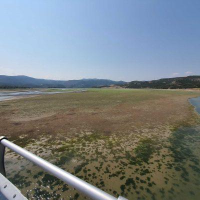 "Kozan.gr: ""Στέγνωσε"" η λίμνη Πολυφύτου στο ύψος της γέφυρας του Ρυμνίου Κοζάνης (Σημερινό (22/8) Βίντεο και Φωτογραφίες)"