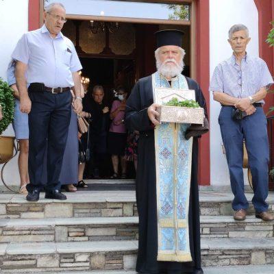 Αναχώρησε το ιερό λείψανο του Αγίου Διονυσίου εν Ολύμπω  από το Βελβεντό για το Μοναστήρι του στον Όλυμπο (του παπαδάσκαλου Κωνσταντίνου Ι. Κώστα)