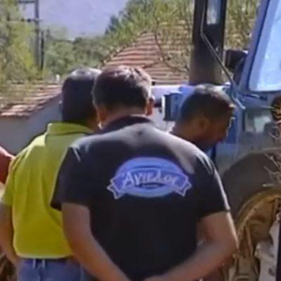 Ζωοτροφές για τους  πυρόπληκτους συναδέλφους τους, συγκεντρώνουν, στη Σκήτη Κοζάνης, γεωργο-κτηνοτρόφοι της Π.Ε. Κοζάνης (Βίντεο)