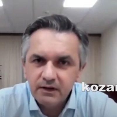 kozan.gr: Ο Περιφερειάρχης Δ. Μακεδονίας Γ. Κασαπίδης ανέφερε, πως είναι ανεμβολίαστος, δεν είναι όμως αρνητής, πιστεύει στην επιστήμη και όταν θα είναι έτοιμος θα πάρει την απόφαση προς αυτή την κατεύθυνση (Βίντεο)