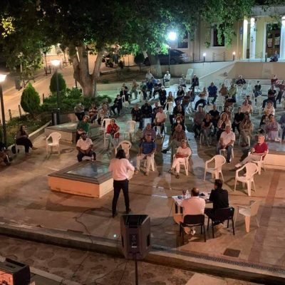 "kozan.gr: Στα Σέρβια, το βράδυ της Παρασκευής 3/9, ""έπεσε η αυλαία"" των 18 άτυπων λαϊκών συνελεύσεων με την ονομασία «τα παράπονα στο Δήμαρχο» – Το μήνυμα του Δημάρχου Σερβίων Χ. Ελευθερίου (Φωτογραφίες)"