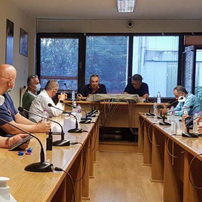 """Συνάντηση σωματείου ΔΕΗ """"Σπάρτακος"""" με τον Ευρωβουλευτή Κώστα Αρβανίτη"""