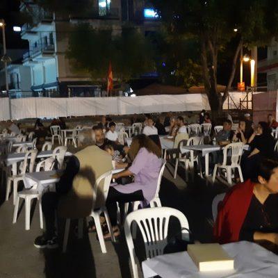 kozan.gr: Φωτογραφίες & βίντεο, το βράδυ του Σαββάτου 4/9, από το 47ο Φεστιβάλ ΚΝΕ-«Οδηγητή», που πραγματοποιήθηκε στο Πέτρινο Δημοτικό Σχολείο, στην Πτολεμαΐδα