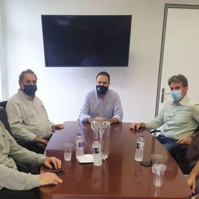 Mε τον Δήμαρχο Φλώρινας Βασίλη Γιαννάκη συναντήθηκε αντιπροσωπεία του ΤΕΕ/ΤΔΜ – Τι συζητήθηκε