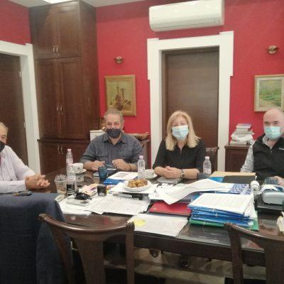 Συνάντηση της Διοίκησης του ΤΕΕ/ΤΔΜ με τον Δήμαρχο Άργους Ορεστικού