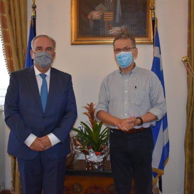Με τον αναπληρωτή υπουργό Ανάπτυξης Νίκο Παπαθανάση συναντήθηκε ο δήμαρχος Κοζάνης Λάζαρος Μαλούτας